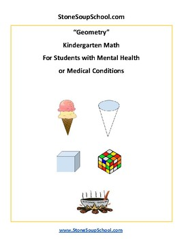 K - Students with Psychiatric Disabilities - Geometry -  Common Core