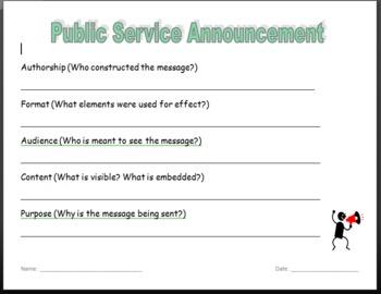 PSA Worksheet