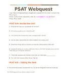 PSAT 8/9 Webquest