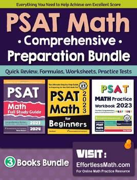 PSAT Math Preparation Bundle: Lessons, Worksheets, Activities, Practices, Tests