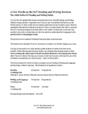 User-Friendly PSAT and SAT Prep Tip Sheets for the Reading and Writing Sections