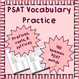 PSAT vocabulary word parts practice