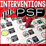 PSF Interventions { Phoneme Segmentation Fluency }