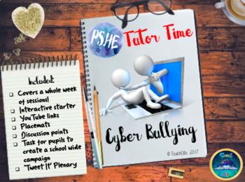 PSHE/ Tutor Time : Cyber Bullying