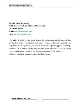 PSSA 8 Math Workbook