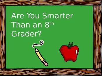 PSSA 8th Grade Science Prep