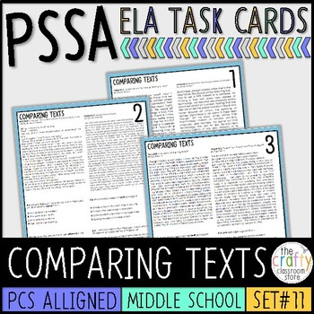 PSSA Comparing Texts Task Cards