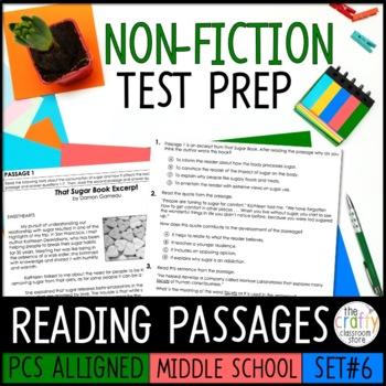 PSSA ELA Informational Text Practice Test - Set 6