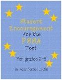 PSSA Encouragement Notes
