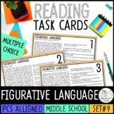 Figurative Language Task Cards   PDF & Digital
