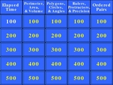 PSSA Geometry and Measurement Jeopardy® PowerPoint