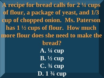 PSSA Jeopardy Game Powerpoint Review (Fifth Grade)