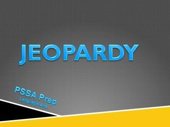 PSSA Language Arts Jeopardy Prep
