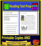 6th Grade PSSA Test Prep Reading and Writing Practice Tests for Language Arts