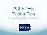 PSSA Prep Tips Presentation