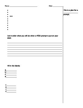 (PSSA) Standardized Writing  Assessment Review