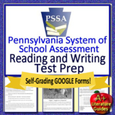 8th Grade PSSA Test Prep Reading and Writing Practice Tests for Language Arts