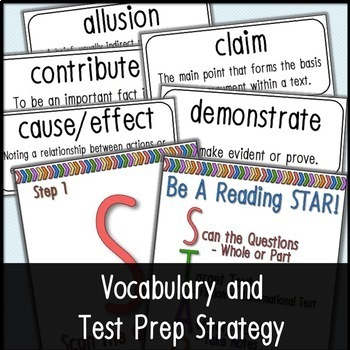 PSSA Test Prep ELA Bundle 3