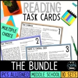 PSSA Test Prep ELA Task Cards Bundle
