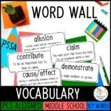 PSSA Test Prep Vocabulary