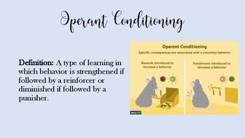 PSYCHOLOGY Operant Conditioning Introduction