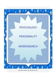 PSYCHOLOGY: Personality Wordsearch