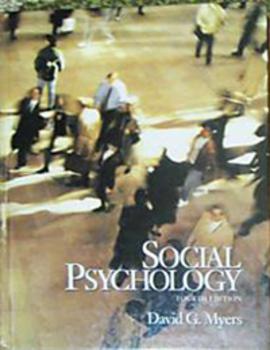 TEXTBOOK SOCIAL PSYCHOLOGY David Myers (Incl shipping)