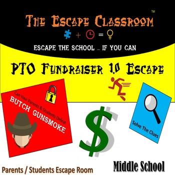 PTO / Fundraiser Escape Room (Middle School Version) | The Escape Classroom