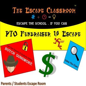 PTO Fundraiser 1.0 Escape Room (Elementary Version) | The Escape Classroom