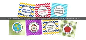 PTO / PTA Teacher Appreciation Gift Tags_BUNDLE