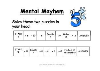PTRC Puzzle Pack 1