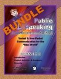 "PUBLIC SPEAKING / SPEECH – ""Parts 1 & 2""  BUNDLE"