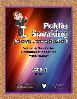 """PUBLIC SPEAKING – Verbal/Non Verbal Commun. """"Part 2: Diversity Activities"""""""