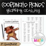 PUG DAB: Coordinate Plane Graphing Activity! (1st Quadrant)