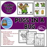 PUGS IN A BUG BOOK UNIT AND TEACHER PUPPET STICKS