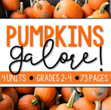 PUMPKIN BUNDLE For Grades 2-4!!!
