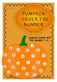 PUMPKIN- COVER THE NUMBER