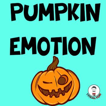 PUMPKIN EMOTION FIRST GRADE WORKSHEETS| HAPPY PUMPKIN DAY! WE LOVE PUMPKINS|FUN!
