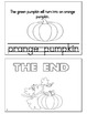 PUMPKIN LIFE CYCLE BOOKLET