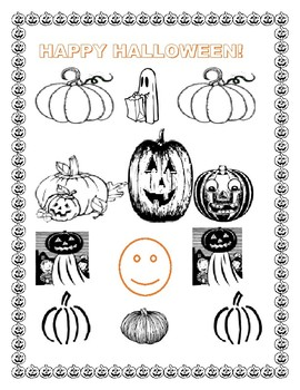 PUMPKIN PARTS & COLORING PAGE: HAVE FUN WITH SCIENCE/ART!  K-4