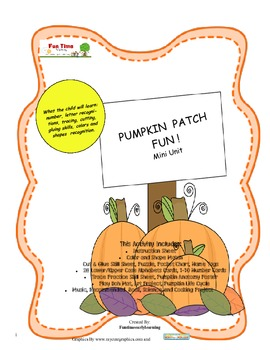 PUMPKIN PATCH FUN MINI THEME
