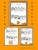 PUMPKIN PUMPKIN ROUND AND FAT!! for beginning violin