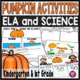 Pumpkins Activities for Kindergarten
