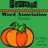 PUMPKIN WORD ASSOCIATION PUZZLES