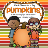 PUMPKINS Theme Math and Literacy Centers Printables and Ac