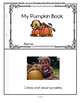 PUMPKINS Theme Unit Activities for Preschool and Pre-K