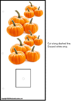 PUMPKINS – Counting To 20 with Data and IEP Goals for Special Education - Autism