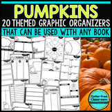 PUMPKINS | Graphic Organizers for Reading | Reading Graphic Organizer HALLOWEEN