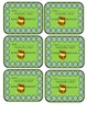 PUNCH AND EARN CARDS FOR BEHAVIOR