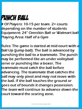 PUNCH BALL